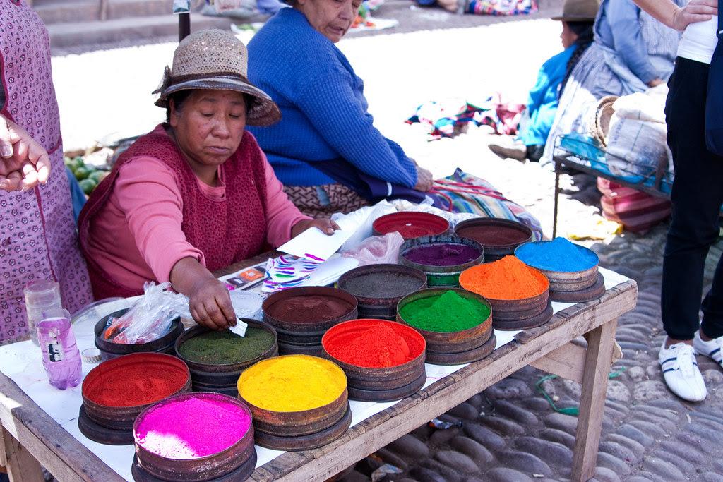 Peruvian Market of Pisac