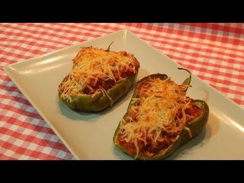 Co mo hacer pimientos verdes rellenos recetas de cocina - Como hacer pimientos verdes fritos ...