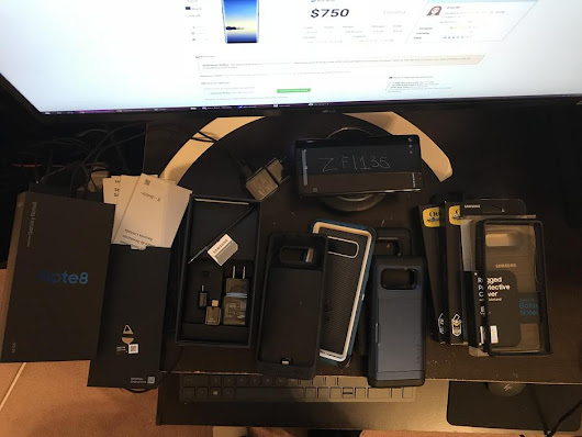 Samsung Galaxy Note 8 (T-Mobile) For Sale - $730 on Swappa (ZFI135)