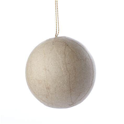 Paper Mache Ball Ornament   Paper Mache   Basic Craft