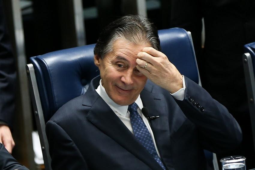 Eunício Oliveira é alvo de novas suspeitas envolvendo o Dnocs. (Foto: Marcelo Camargo/Agência Brasil)