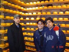 Dalam Kilang Cheese, Volendam, Netherlands