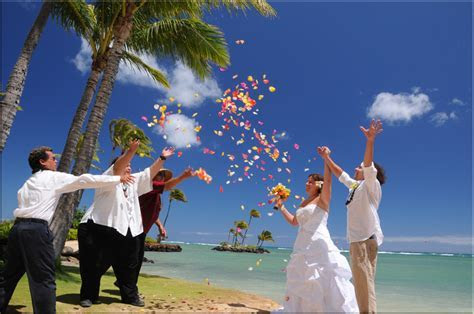 Hawaii Beach Wedding Photos   by Bridal Dream Hawaii