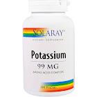 Solaray Potassium 99 mg 200 Veg Capsules