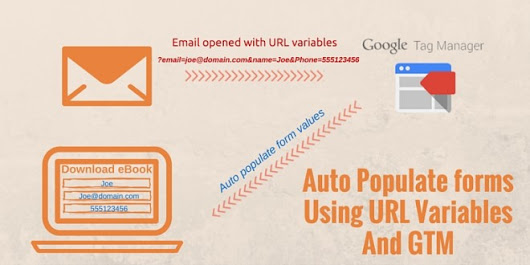 Populate form fields from URL Variables using GTM