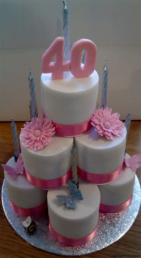 Individual Celebration Cakes   From £1.60   Centrepiece