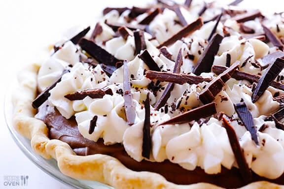 French Silk Pie (Chocolate Pie) Recipe | gimmesomeoven.com