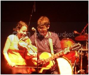 Colin Meloy & Petra Haden of The Decemberists @ The Phoenix: photo by Mike Ligon