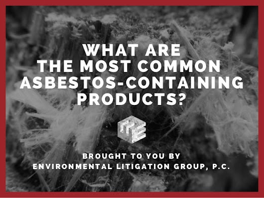 What Are The Most Common Asbestos-containing Products?
