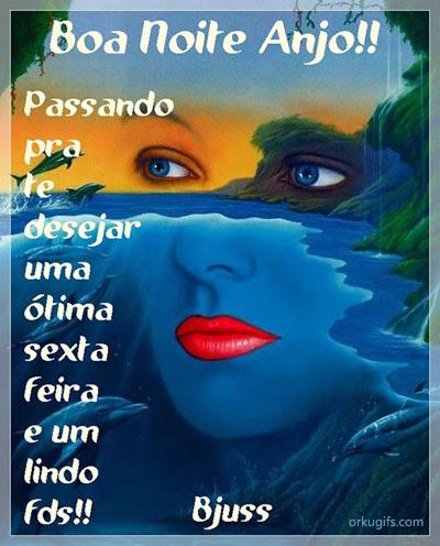 Boa Noite Anjo Imagens E Mensagens Para Facebook