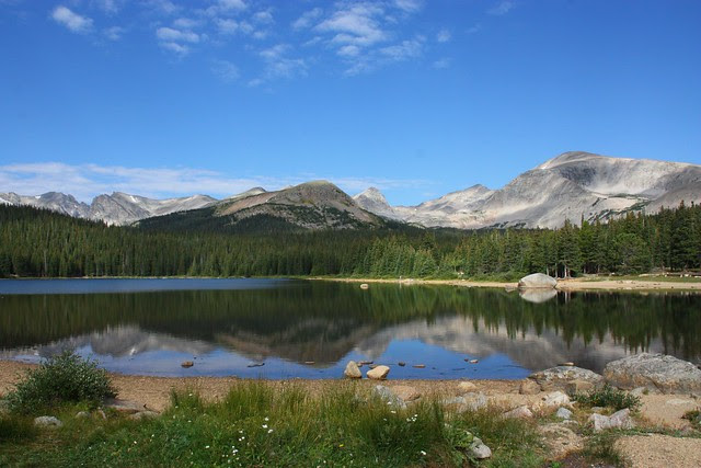 Brainard Lake and the Indian Peaks