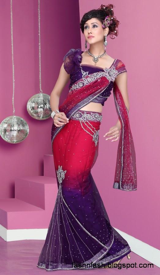 Bridal-Wedding-Saree-Dress-Designs-Indian-Pakistani-Fancy-Bridal-Wedding-Party-Wear-Saree-Collection-5