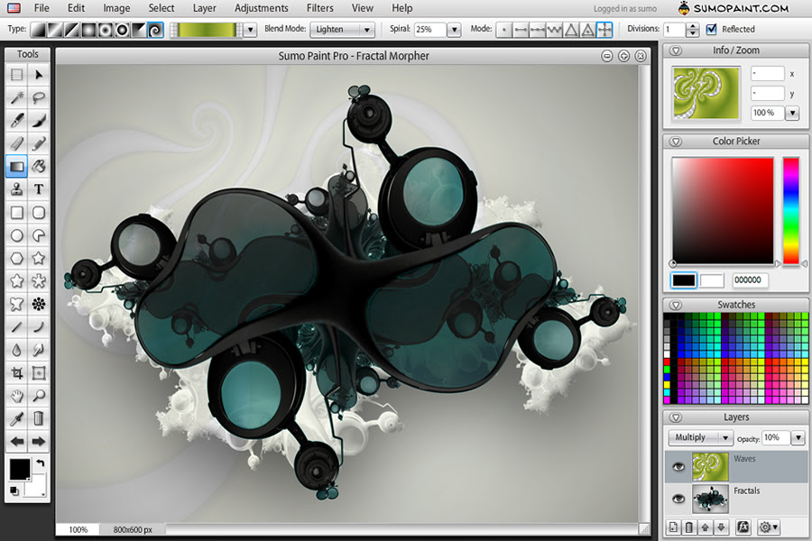 Desktop Photo Editing Tools - Sumo Paint