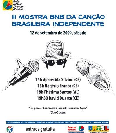 iii mostra bnb cancao brasileira
