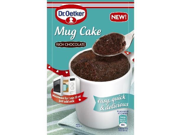 Dr Oetker introduces new convenient Mug Cake mix