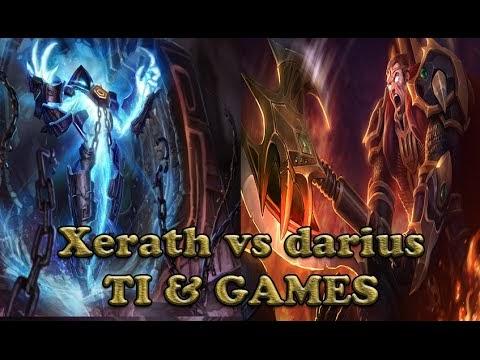 LOL Xerath vs Darius - Todos contra um League of Legends