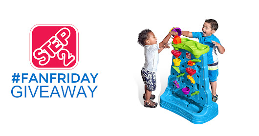 It's Step2 #FanFriday! Enter to win a #Step2 Waterfall Discovery Wall before midnight EST tonight!