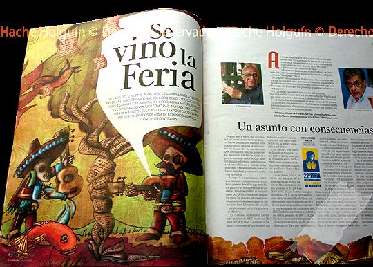 Literatura mejicana por Hache Holguín, publicación