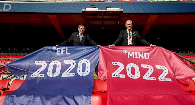 EFL and Mind Extend Partnership Until End of 2021/22 Campaign