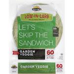 Tumaros Garden Veggie Wraps, 8 Pc (Pack of 6)
