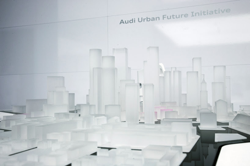 AUDI urban future initiative: vision of mobility at CES 2014