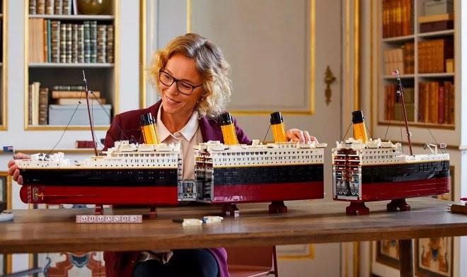 Lego представляет новый набор-рекордсмен «HMS Titanic» из 9090 деталей