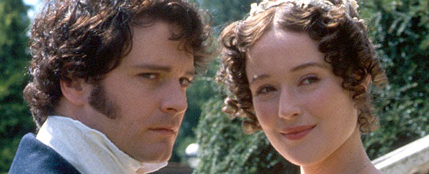 Mr Darcy & Lizzie (Colin Firth & Jennifer Ehle)