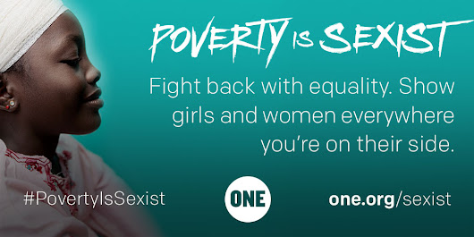 Poverty is sexist - fight back with equality
