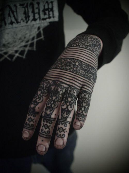 Wonderful Black Hand Ink Best Tattoo Design Ideas
