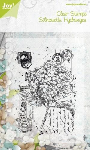 Noor! Design - Clearstamps Old Letter Hydrangea
