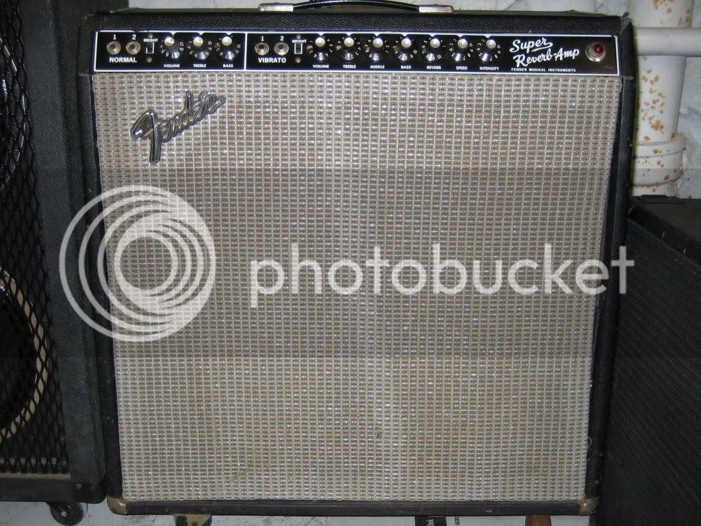 Fender 1968 Super Reverb