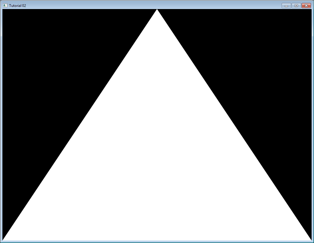 Tutorial 2 The First Triangle