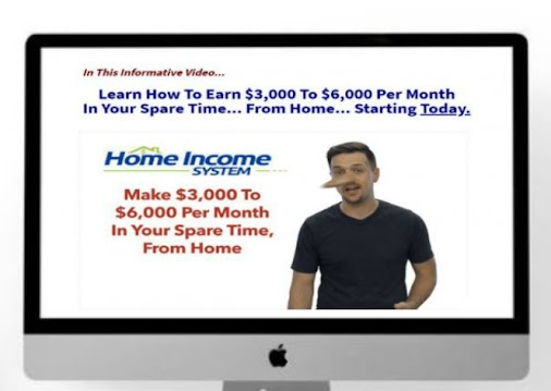 Home Income System  #homeincomesystem allows you to generate income $3K to $6K a month in your spare...