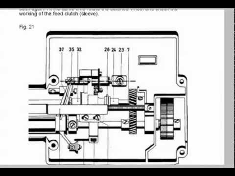 Pfaff 1222 Reparaturanleitung