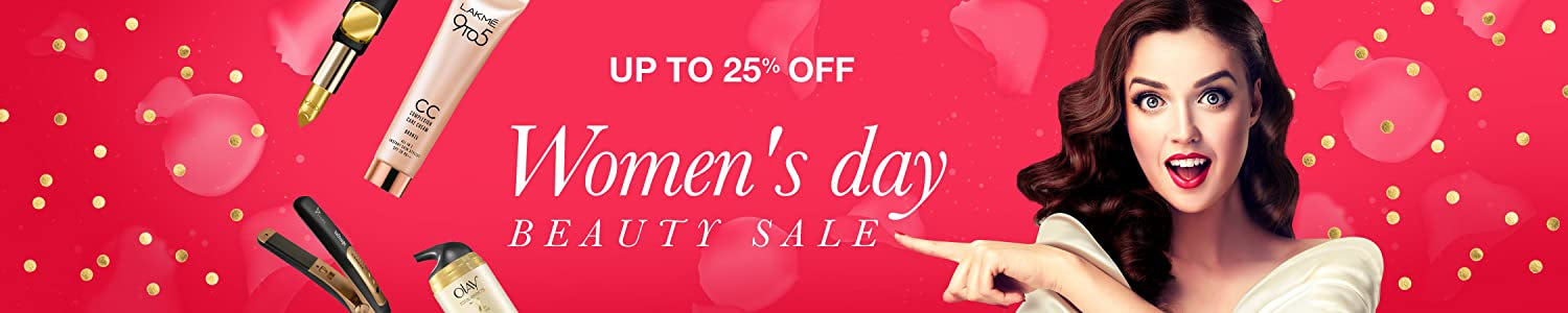 25% off Beauty Womens day