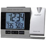 La Crosse Projection Atomic Alarm Clock w In-Outdoor Temp WT-5220U-IT