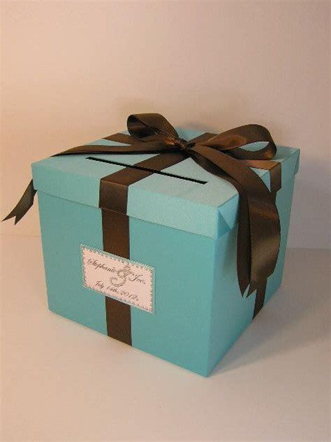 Wedding /Quinceañera/Sweet 16 Card Box Blue Gift Card Box