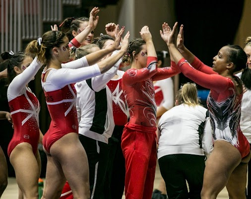Ball State #gymnastics completes comeback against Bowling Green  After Friday night's Royal Ball in ...