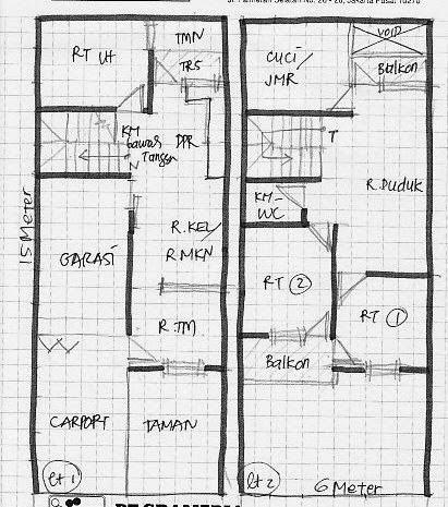 desain rumah minimalis 2 lantai ukuran 7x12