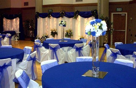 royal blue wedding decoration royal blue wedding