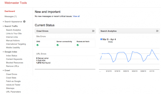 Google Replaces Search Queries Reports For Search Analytics In Webmaster Tools For Alpha Users