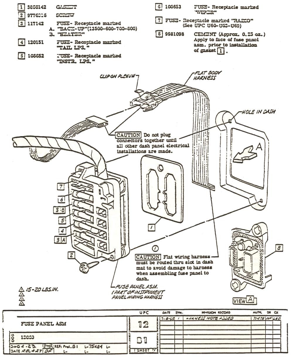 79a1151 1972 Nova Fuse Box Wiring Resources