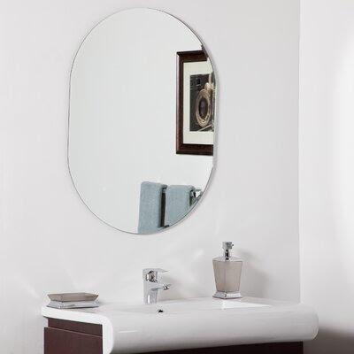 Oval Shaped Home Mirror | Wayfair