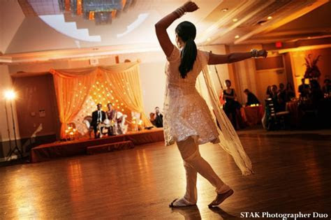 A Cowboy Indian Wedding Reception by STAK Photographer Duo