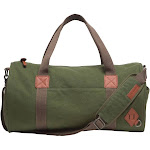 Alternative Basic Cotton Barrel Duffel Bag, Green