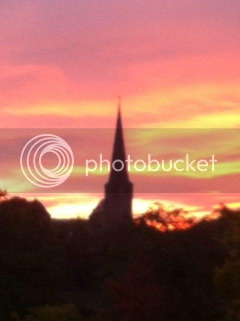 Sonnenaufgang Mönchengladbach
