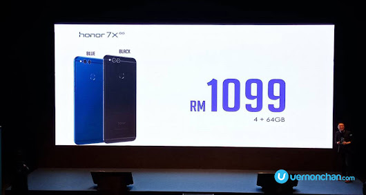 Honor 7X goes official, MYR999 flash sale on 18 December