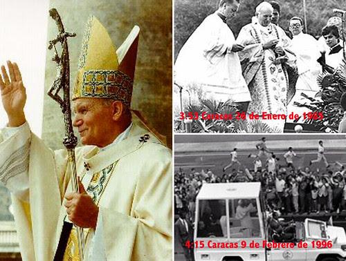 Visitas del Papa a Venezuela