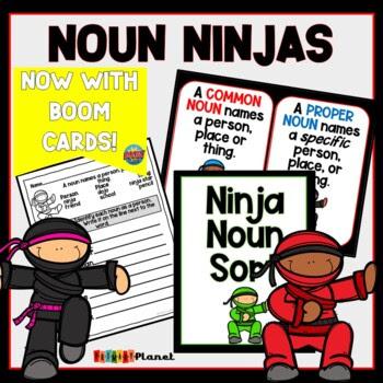 Noun Ninjas: Learning about nouns!