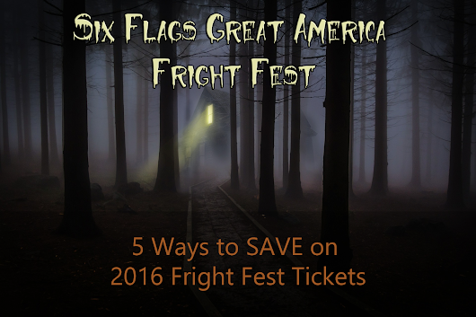 Jewel Fright Fest Tickets